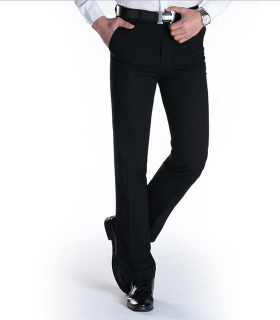 West Louis™ Business Casual Leisure Long Trousers Black / 29 - West Louis