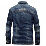 West Louis™American Legend Denim Jacket  - West Louis