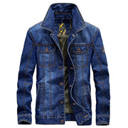 West Louis™American Legend Denim Jacket Denim blue / M - West Louis
