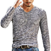 West Louis™ Stretch Pullover Chemise Tee Grey / M - West Louis