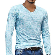 West Louis™ Stretch Pullover Chemise Tee Sky Blue / M - West Louis