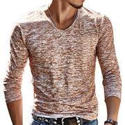 West Louis™ Stretch Pullover Chemise Tee Brown / M - West Louis