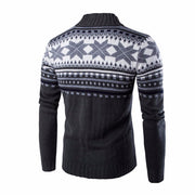 West Louis™ Snowflake Thick Sweater