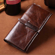 West Louis™ High-grade Leather Long Wallet  - West Louis