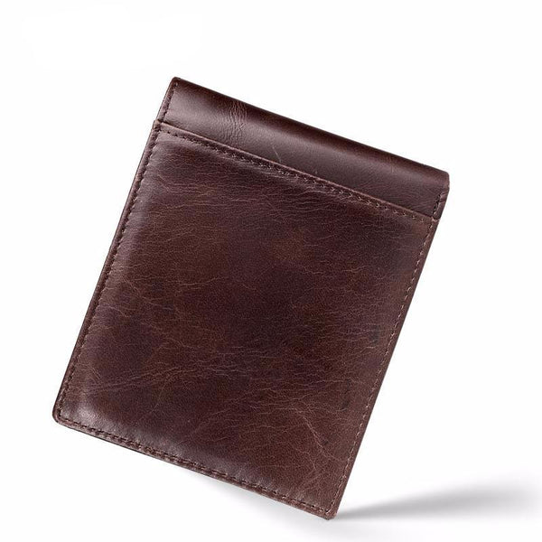 West Louis™  Retro Leather Little Wallet  - West Louis