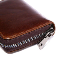 West Louis™ Multi-Functional Leather Bank Card Wallet  - West Louis