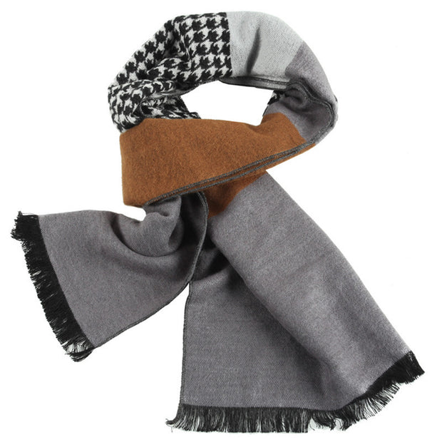 West Louis™ Soft  Houndstooth Designer Scarf