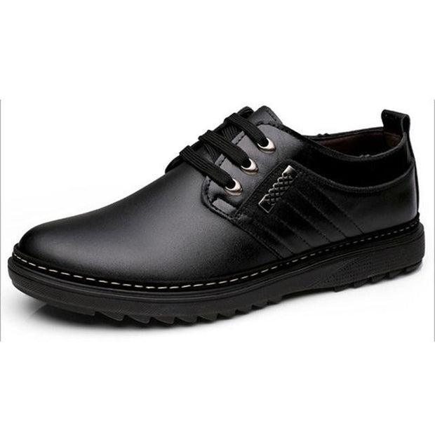 West Louis™ Leather Handmade Fashion Zapatos Shoes Black / 5.5 - West Louis
