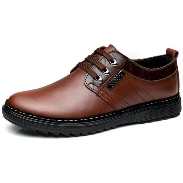 West Louis™ Leather Handmade Fashion Zapatos Shoes Brown / 5.5 - West Louis