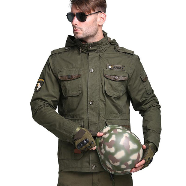 West Louis™ US Air Force Army Tactical Jacket