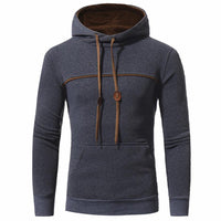 West Louis™ Elegant Hoodie Deep Gray / L - West Louis