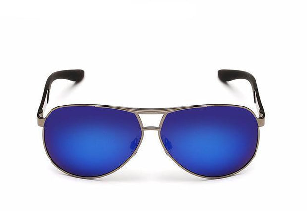 West Louis™ Coating Mirror Polarized Sunglasses Blue - West Louis