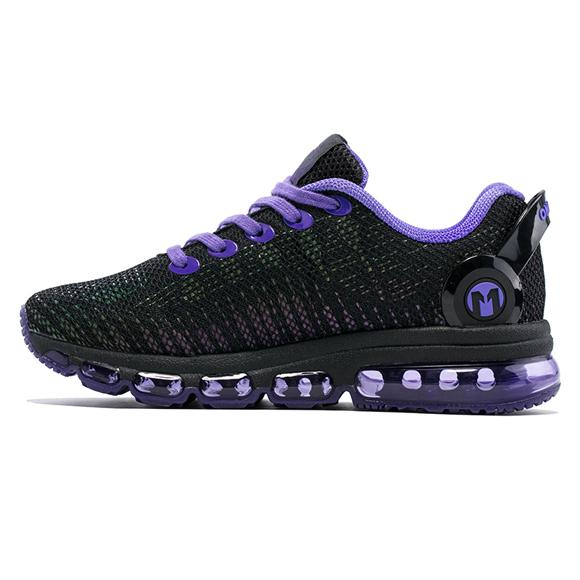West Louis™ Unique Tongue Design Breathable Sport Shoes Purple / 8 - West Louis