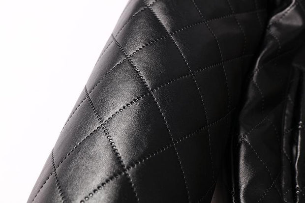 West Louis™ Autumn High Quality Soft PU Leather Jacket  - West Louis