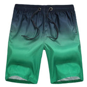 West Louis™ Beach Bottom Trunks Shorts Black Green / L - West Louis