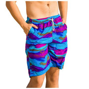West Louis™ Beach Bottom Trunks Shorts Purple / L - West Louis