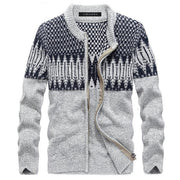 West Louis™ Brand Men Knitted Sweater Gray / L - West Louis
