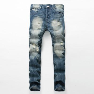 West Louis™ Brand Slim Cowboy Jeans Blue / 28 - West Louis