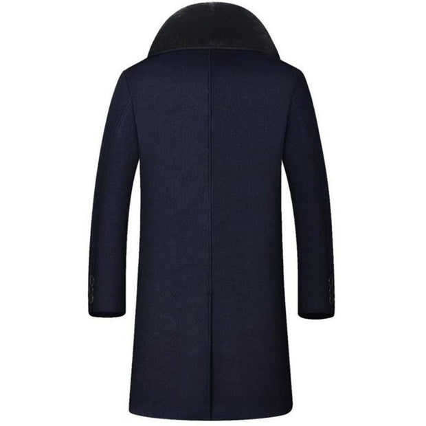 West Louis™ High-End Men's Business Warm Velvet Coat  - West Louis
