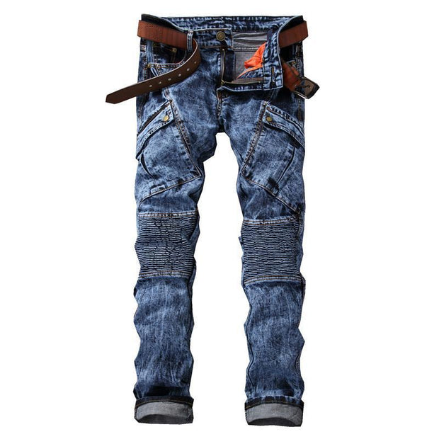 West Louis™ Vaqueros Distressed Jeans Blue / 29 - West Louis