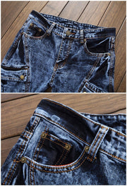 West Louis™ Vaqueros Distressed Jeans  - West Louis