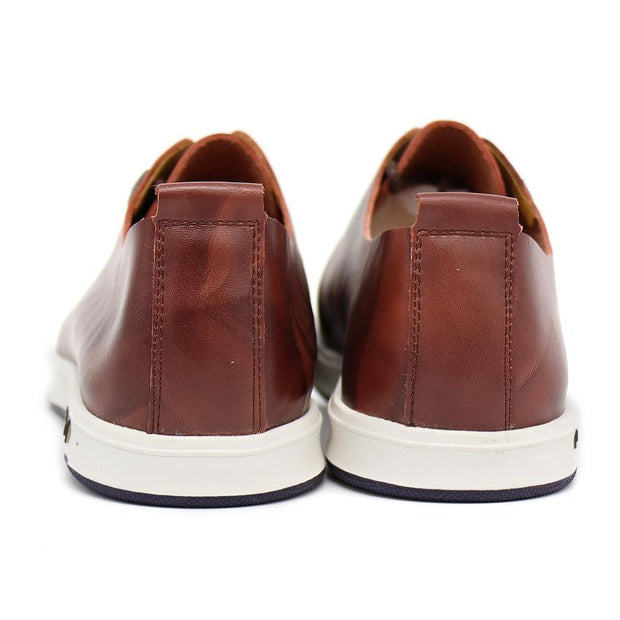 West Louis™ England Fashion Embossing Lace-Up Shoes  - West Louis