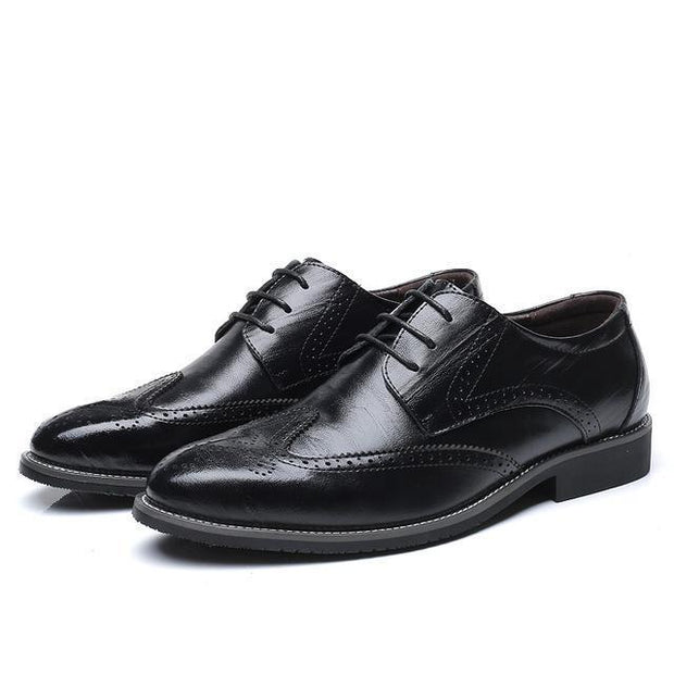 West Louis™ Business Dress Brogue Shoes For Party Black / 11 - West Louis