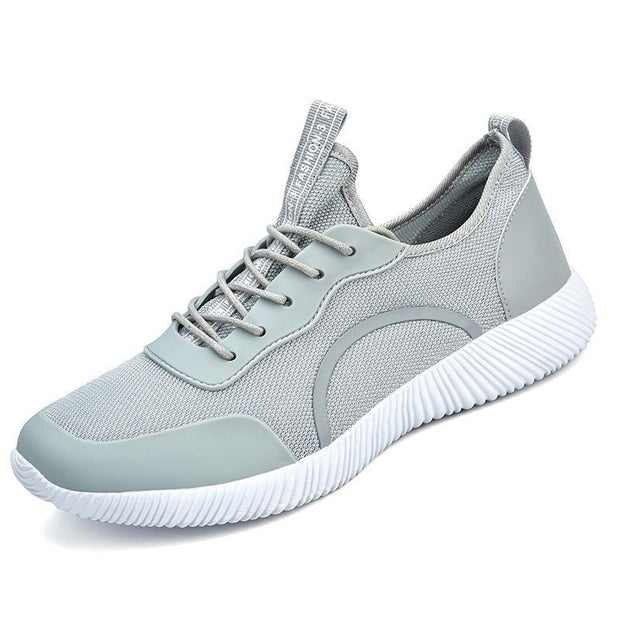 West Louis™ Breathable Mesh Lovers Unisex Shoes Light Gray / 6 - West Louis