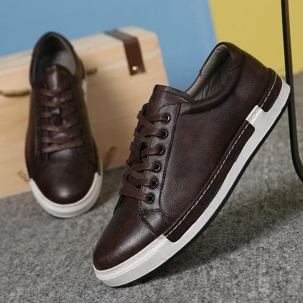 West Louis™ Chaussure Homme Lace-Up Shoes Brown / 6 - West Louis
