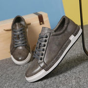 West Louis™ Chaussure Homme Lace-Up Shoes Gray / 6 - West Louis