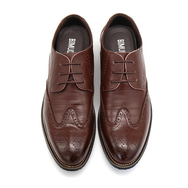 West Louis™ Business Dress Brogue Shoes For Party  - West Louis