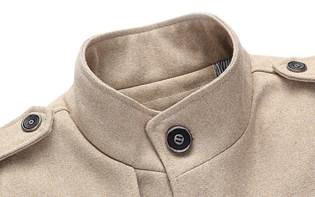 West Louis™ Winter Standing Collar Jacket  - West Louis