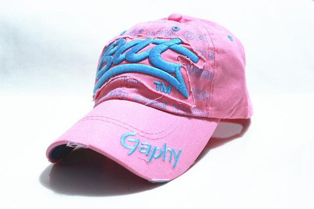 West Louis™ Gorras Curved Brim Baseball Cap pink - West Louis