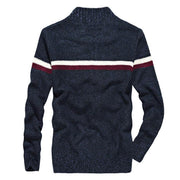 West Louis™ Knitted Wear Casual Baseball Collar Cardigan  - West Louis