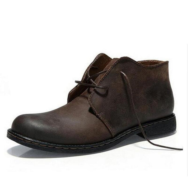 West Louis™ Genuine Leather Causal Outdoor Boots  - West Louis