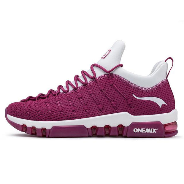 West Louis™ Soft Insole Breathable Jogging Sneakers Wine Red / 3.5 - West Louis