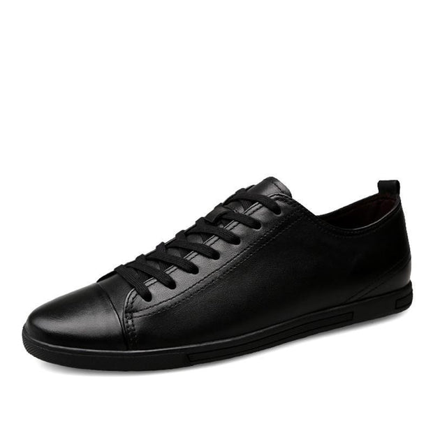 West Louis™ Genuine Leather Breathable Comfortable Shoes  - West Louis