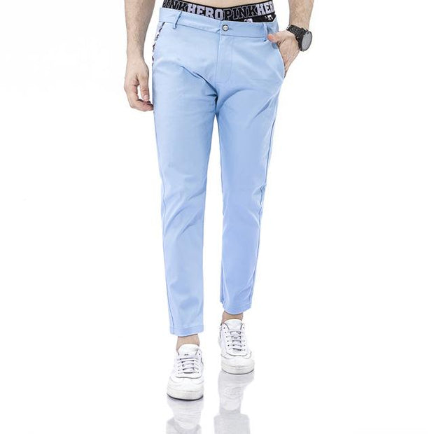 West Louis™ Business Dress Slim Jogger Trousers light blue / XS - West Louis