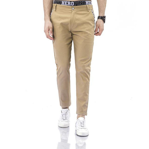 West Louis™ Business Dress Slim Jogger Trousers khaki / XS - West Louis