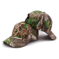 West Louis™ Browning Camo Baseball Cap Green / One Size Fits All - West Louis
