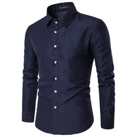 West Louis™ Autumn Fashion Polka Dot Shirt