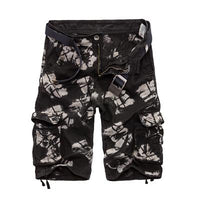 West Louis™ Camo Cargo Shorts Black2 / 29 - West Louis