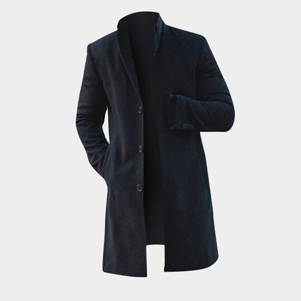 West Louis™ Men Parka Stylish Coat Black / S - West Louis