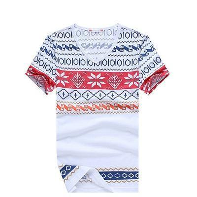West Louis™ Camiseta Tee Skate Moleton T-Shirt white / M - West Louis