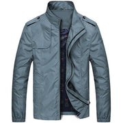 West Louis™ Designer Business-Man Windbreaker Jacket Sky Blue / XS - West Louis