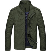 West Louis™ Designer Business-Man Windbreaker Jacket Army Green / XS - West Louis