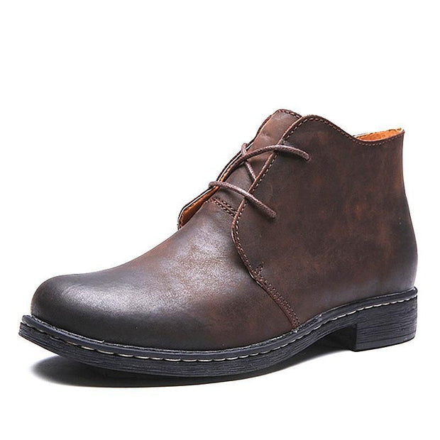 West Louis™ Lace-Up Men Outdoor Desert Boots  - West Louis