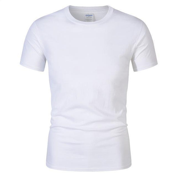 West Louis™ Summer High Quality Cotton T-Shirt White / S - West Louis