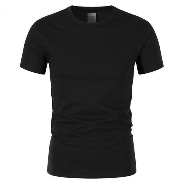 West Louis™ Summer High Quality Cotton T-Shirt Black / S - West Louis