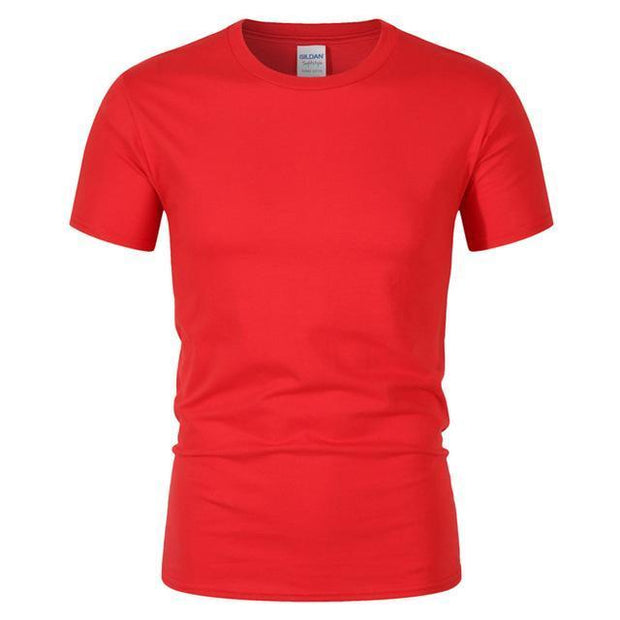 West Louis™ Summer High Quality Cotton T-Shirt Red / S - West Louis